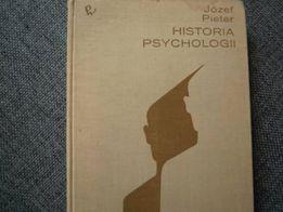Książka - Historia psychologii - Józef Pieter