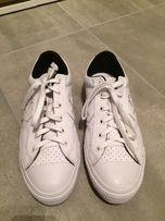 Buty Converse białe skórzane jak nowe.