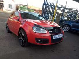2007 VW Golf 5 Gti Dsg with a sunroof