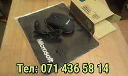 USB мышка для ноутбуков и нетбуков, Lenovo M20+ коврик для мыши