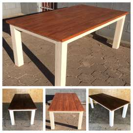 Patio table Chunky Cottage series 2000 Two tone