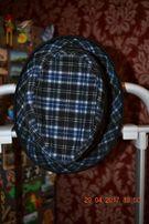 Шляпа в клетку -синия размер 54 цена 119 грн