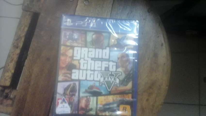 Ps4 game on special  grand theft autho 0