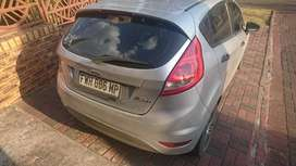 Ford Fiesta. Owned by a White lady