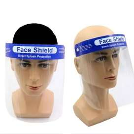Face Shield Protective Anti-Fog Safe, Comfortable, Re-Usable Brand New