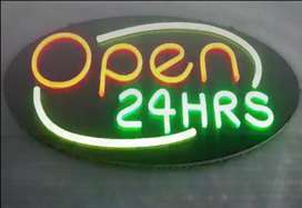 Custom LED neon light signs for your business