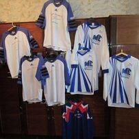 Футбольная ФОРМА с номерами комплект 8 футболок adidas puma