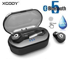 TWS Future – наушники на Bluetooth 5.0 с сенсором и защитой по IPX7