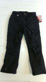 Spodnie damskie narciarskie czarne rozm. M