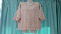 Теплая блуза блузка женская кофта 44 46
