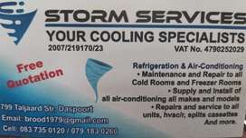 Aircon cooling systems