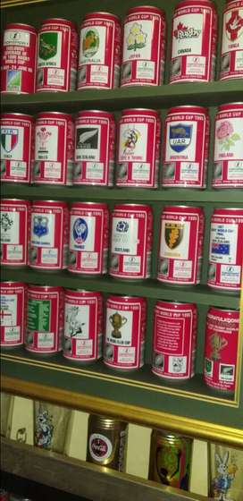 1995 Rugby world cup cans