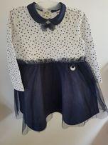 Śliczne sukieneczki w idealnym stanie 68-74 Coccodrillo Nicol