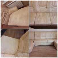 Реставрация кожи пластика кожаной мебели