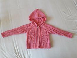 Sweterek różowy roz. 74 sweter