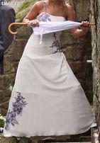 Piękna włoska suknia ślubna z salonu Lilea - Chantal M8028