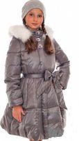 пуховик Италия Via Lattea рост 158-164 новое зимнее пальто