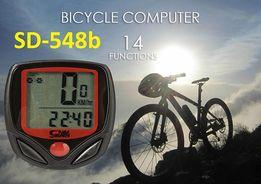 Вело компьютер SUNDING SD-548B/318 проводной велокомпьютер спидометр