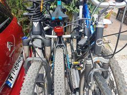 BAGAŻNIK ROWEROWY na hak, platforma na rowery, wynajmę wypożyczę