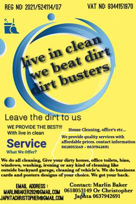Cleaning service's