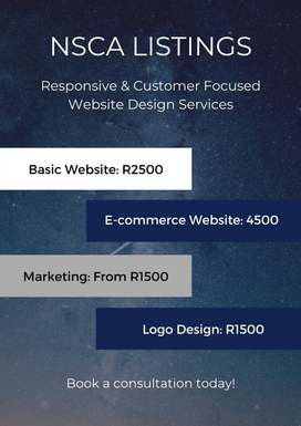 NSCA LISTINGS: UNIQUE AND PROMPT WEB DESING AND MARKETING SERVICES