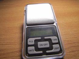 Весы карманные электронные MH-200 (200 г,d=0,01 г) новые