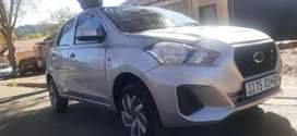 DATSUN GO WITH SERVICE BOOK IN EXCELLENT CONDITION