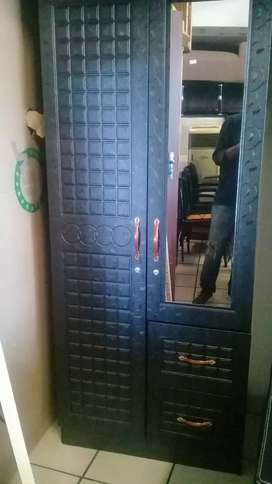 Brand new 2 doors wardrobe of excellent quality in boxes.