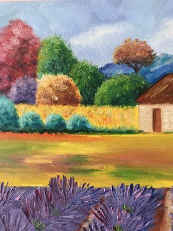 Картина пейзаж прованс маслом Львов - изображение 3