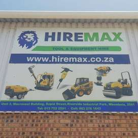 TOOL & EQUIPMENT HIRE