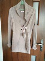 Kardigan/ sweter długi Orsay