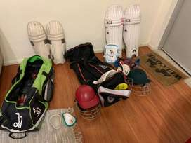 Cricket kit in a brand new condition for sale