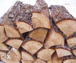 Дрова. Сосновые колотые дрова. Сосна, береза, ольха, осина