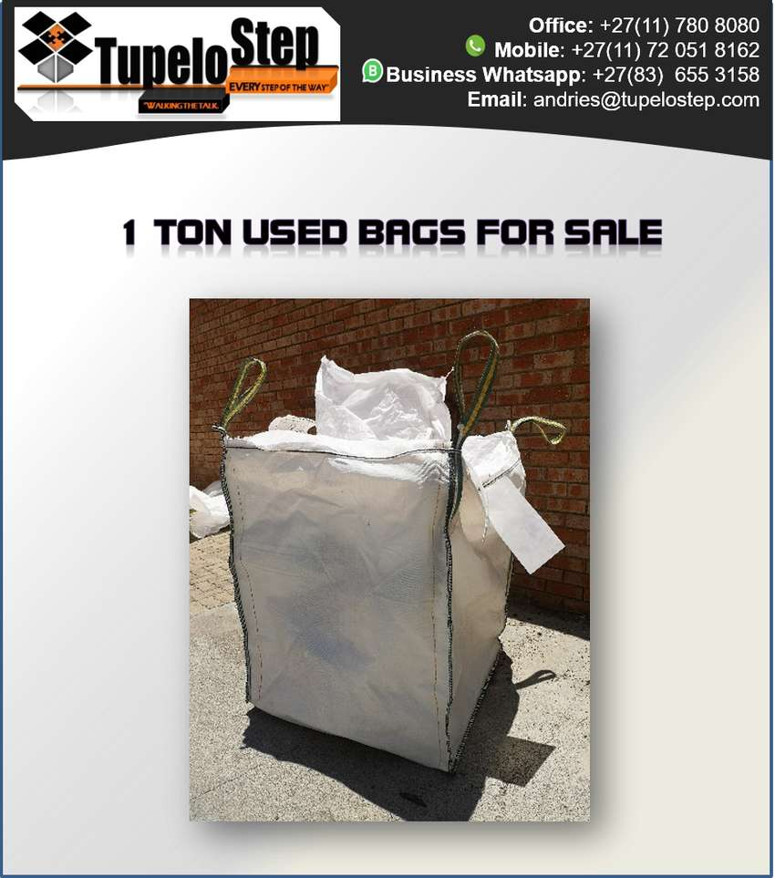 High Quality 1 Ton Bulk Bags For Sale 0