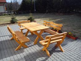 Meble ogrodowe XXL biesiadne drewniane, drewno Kolor i Dostawa Gratis