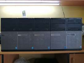 Dell optiplex i3 4th gen desktops for sale tower only