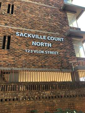 Bedroom Available for a Working Lady at Sackville Court, Vlok Streett