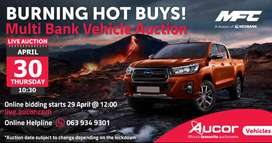 Boost Event Multi Bank Vehicle Auction