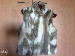 Модная меховая жилетка жилет безрукавка мех размер TOPSHOP размер 44 M
