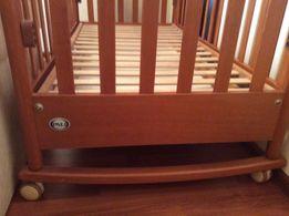 Натур.детскую кроватку(манеж)Pali Италия(для ребёнка от 0 до 4 лет