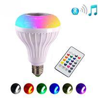 Музыкальная светодиодная лампа Bluetooth 3.0, Е27, 12W