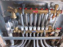 Монтаж опалення, водо постачання,водо відведення...