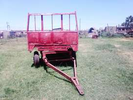 Trail tractor