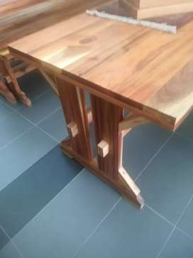 Solid blackwood table