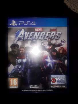 Avengers Ps4 Game. 1 week old