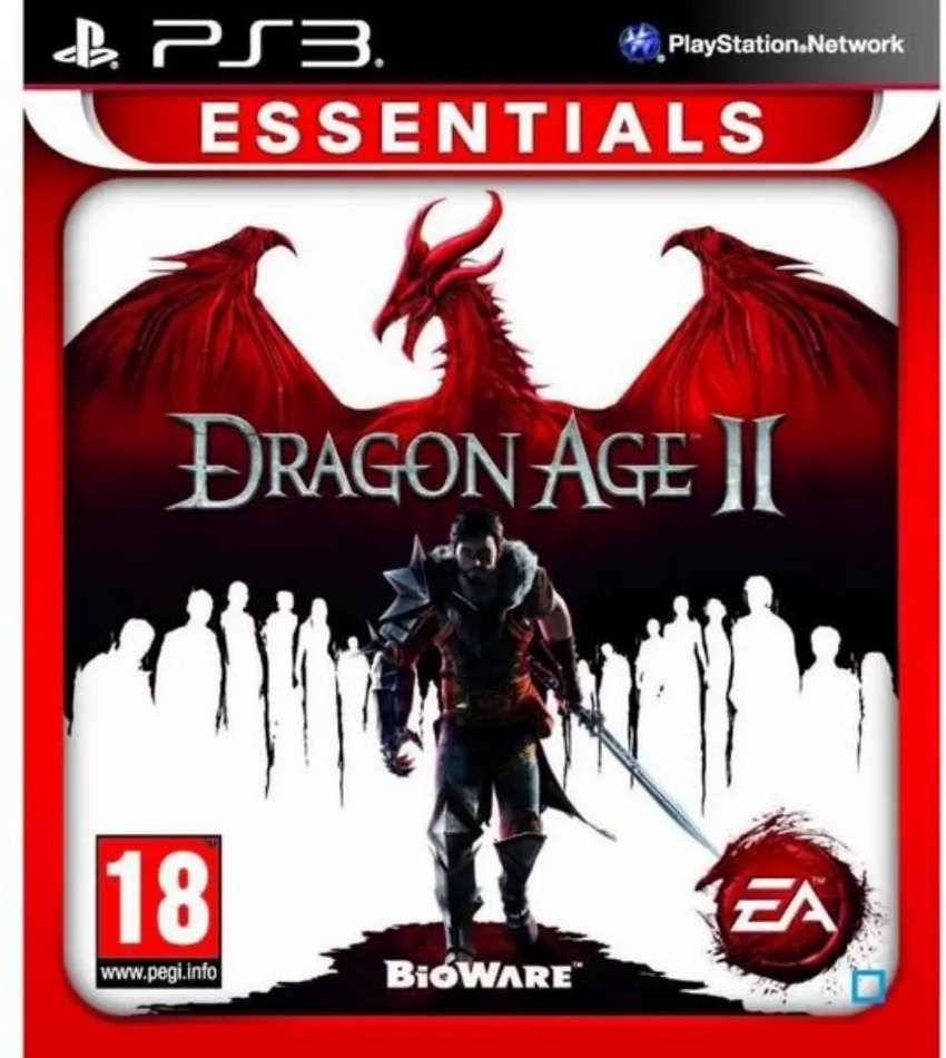 Dragon age 2 PS3 game
