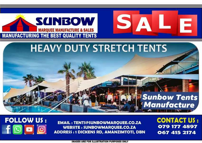 Sunbow marquee and chair hire: toilet hire tent hire frame tent hire 0