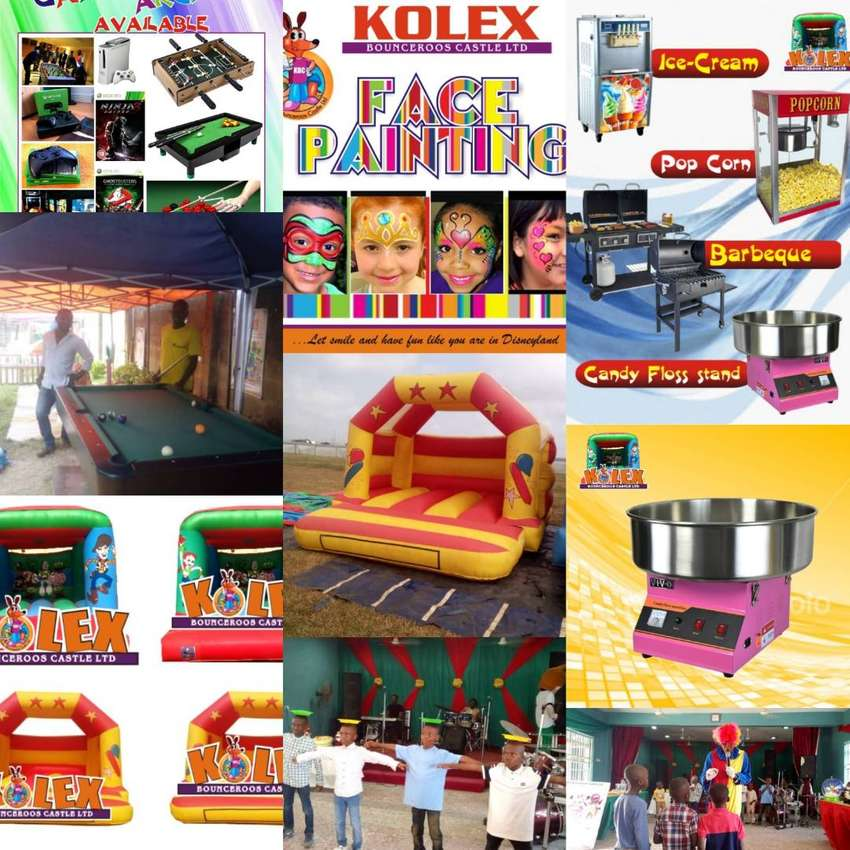 Entertainment and rentals of kiddies brand such mascot bouncy castles 0