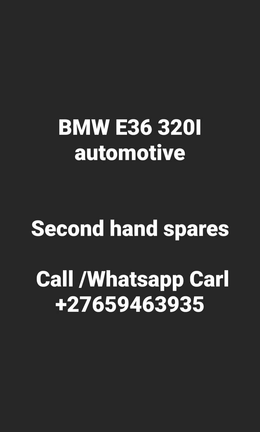 Bmw e36 320i automatic stripping 0