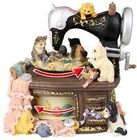 Коллекционерам и любителям кошек подарок музыкальная шкатулка